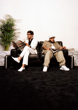 Chromeo, o Chromeo, wherefore art thou, Chromeo?