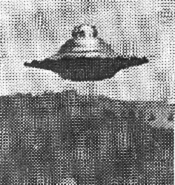 This UFO photo was computer-analyzed for authenticity by NASA