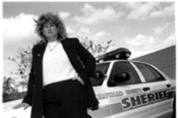 Linda Ashby wants to get back into a patrol car as a sheriff's deputy