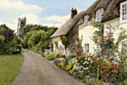 Rosalind Pierson&#039;s Thatched Cottage: The original isn&#039;t much bigger.
