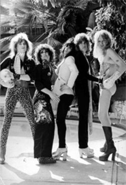 The New York Dolls, circa 1973