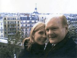 Bruce and Linda in Paris in an undated photo