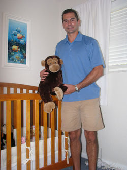 Christopher Dahm has kept the room of his daughter, Gabrielle, just as it was when she  was kidnapped by her mother almost two years ago.
