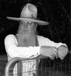 The bard of Loxahatchee Groves: On weekends County Judge Nelson Bailey dons palm-frond hat and cow whip to tell stories about Florida's past