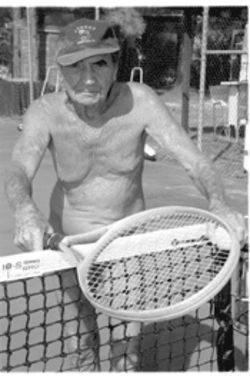 Hugo Forester has run the Sunsport Gardens nudist colony for 35 years