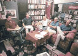 Craig Jordan, James Lauzerne, Bob Bellinger, Rick Sherman, and Johnny Dee conspired to create the Middle River Review