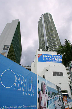 He&#039;s renting condos in his latest project, the Opera Tower.