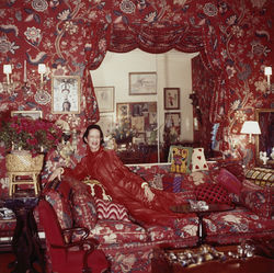 Portrait of Diana Vreeland by Horst P. Horst.