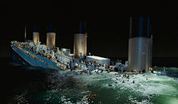 Digital Domain's founder says working on Titanic almost sank the company.