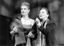 Rosemary Prinz (right) has the character of Callas in the palm of her hand