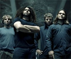 C&C's Michael Todd (left), Claudio Sanchez, Josh Eppard, and Travis Stever.