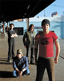 Gee, Fall Out Boy doesn't look like an emo band.