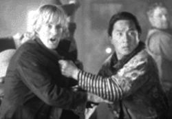 Owen Wilson (left) and Jackie Chan serve up a stale Texas rehash