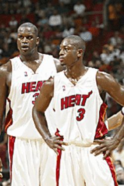 Shaq and Wade turn up the heat on Atlanta.