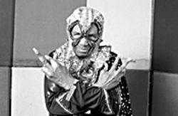 Blowfly and the finger