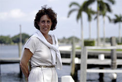 Mayor Lois Frankel put the West Palm waterfront project into the hands of Joan Goldberg, above.