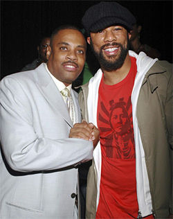 Grandmaster Dee and Common at VH1's Hip-Hop Honors, 2006.
