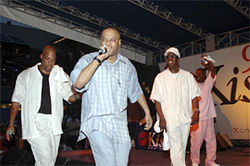 Whodini at work in 2005.