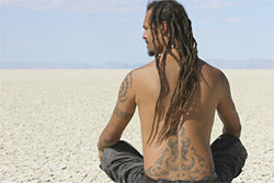 Franti searches for inner calm