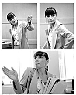 Georgia Roberts performs her magic in the courtroom.