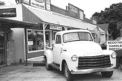 "Davie's country lifestyle -- pickup trucks, cowboys,  and ten-gallon hats -- gives downtown a ""rednecks  welcome"" feel"