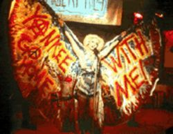 She takes the cake: John Cameron Mitchell as the gender-bending Hedwig