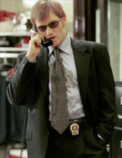 Get a Job: Denis Leary plays Mike McNeil, a cop with a mint tin full of pills, a stomach full of Scotch, and a bed full of mistress.