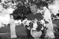 Little statues, big stink: Attorney Charlotte Danciu safeguards her grandparents' gravesite