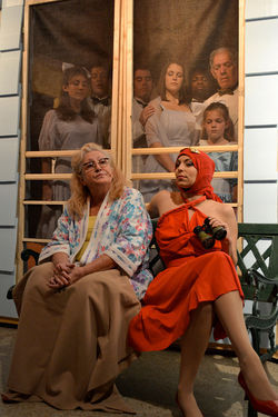 Grey Gardens plays out like a conventional period musical.
