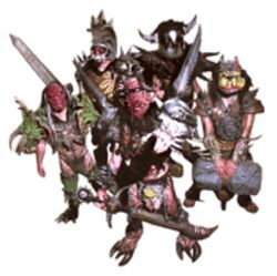 GWAR and Photo Hunt, together at last. Can you find the five differences?