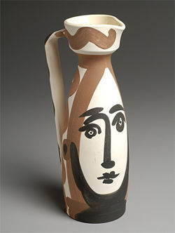 One of Pablo Picasso's 50 ceramic pieces from the museum's permanent collection.