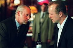 David Morse (left) and Willis: Even the names are the same.