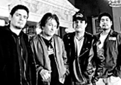 Don't be scared: Fear itself (Lee Ving is second from left)