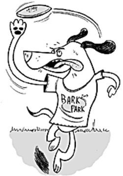 Park your mutt at the Bark Park.