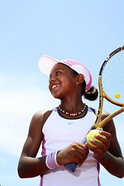 Victoria Duval of Delray Beach is ranked fourth.