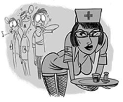 "The ""Night Nurse"" party cures boredom."