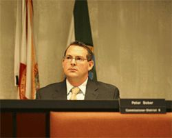 Peter Bober hopes to unseat the mayor.