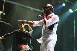"The Black Eyed Peas debuted their single ""Boom Boom Pow"" at the 2009 festival."
