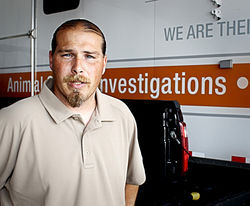 Tim Rickey took over as the ASPCA's head of field investigations and response after assisting with the undercover dogfighting investigation.
