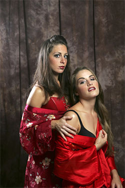 Rebecca Simon (left, with Julie Daniels): Soulful and mean, she is the madame.