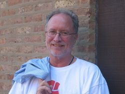 Bill Ayers had a smile for the five house guests he greeted back in 2004.
