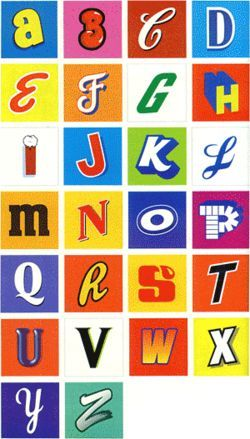 American Alphabet by Heidi Cody.