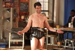 Schmidt is an obsessive-compulsive who, thanks to formative years spent bullied and obese, is a shallow shell of a man.