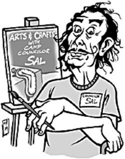 Remember, kids, Councilor Sal says art's just not the same without LSD