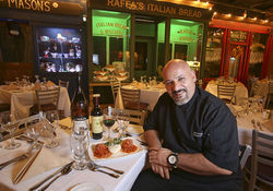 Executive chef Aldo Vespero hails from Napoli.