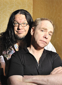 "Magicians Penn Jillette and his partner, Teller, have been disciples of Randi's for 35 years. Penn says he wishes that ""The Amazing Meeting"" were just called ""The Randi Fan Club."""