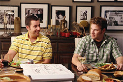 Sandler, Rogen: Dying to meet you.