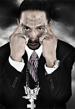 I wonder what's on Katt Williams' mind.