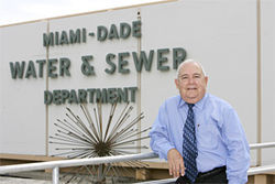 WASD Assistant Director Ralph Terrero says tap water is just fine.