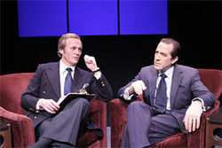 Frost versus Nixon: Round three, is it?